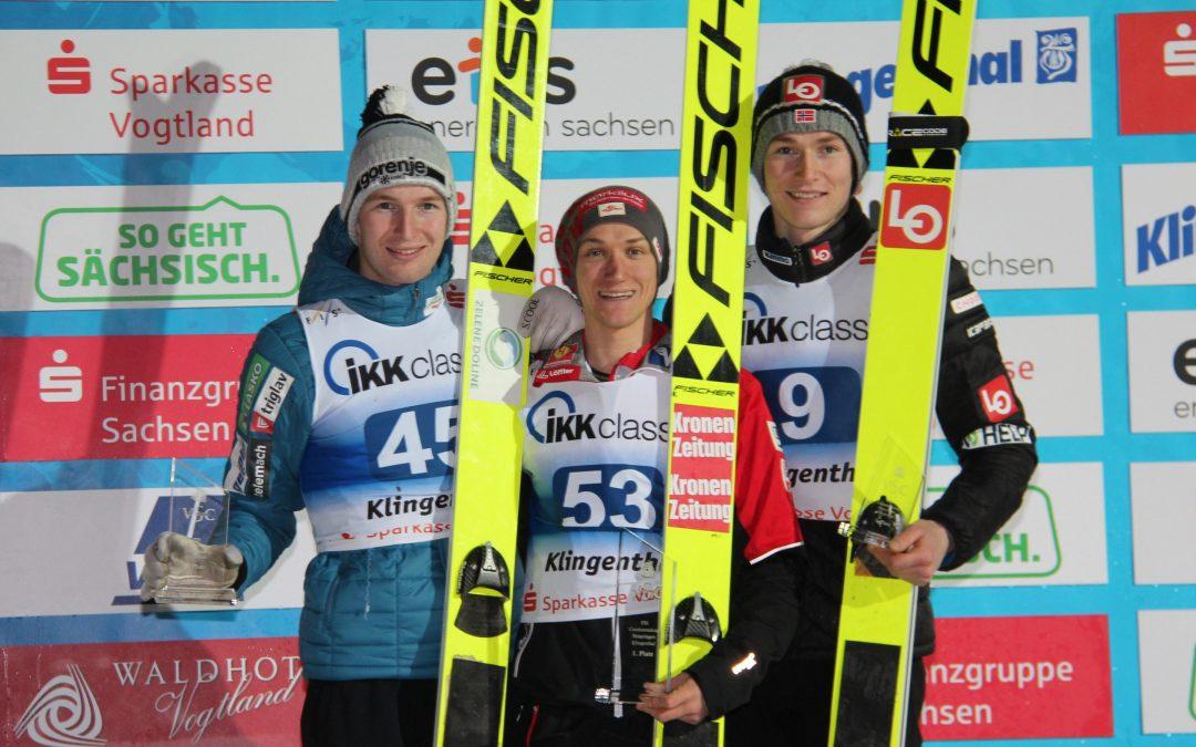 Huber und Riiber heißen die COC-Sieger vom Samstag