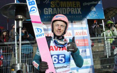Kubacki gewinnt hochklassige Quali in Klingenthal