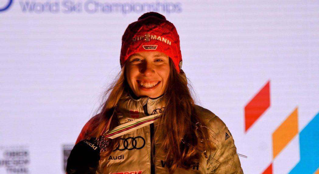 Weltmeisterin Jenny Nowak