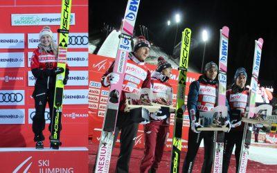 Chiara Hölzl und Team Polen triumphieren in Klingenthal